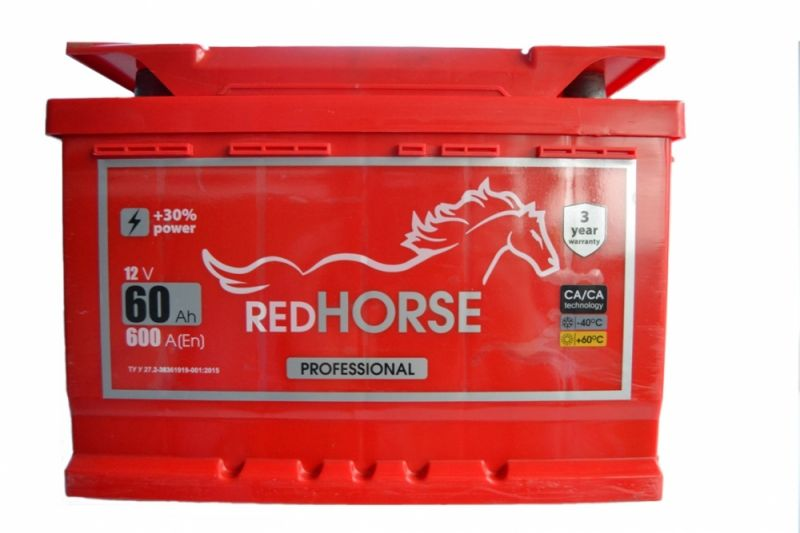 Red Horse 60 АЗ  (242x175x175) 600 A